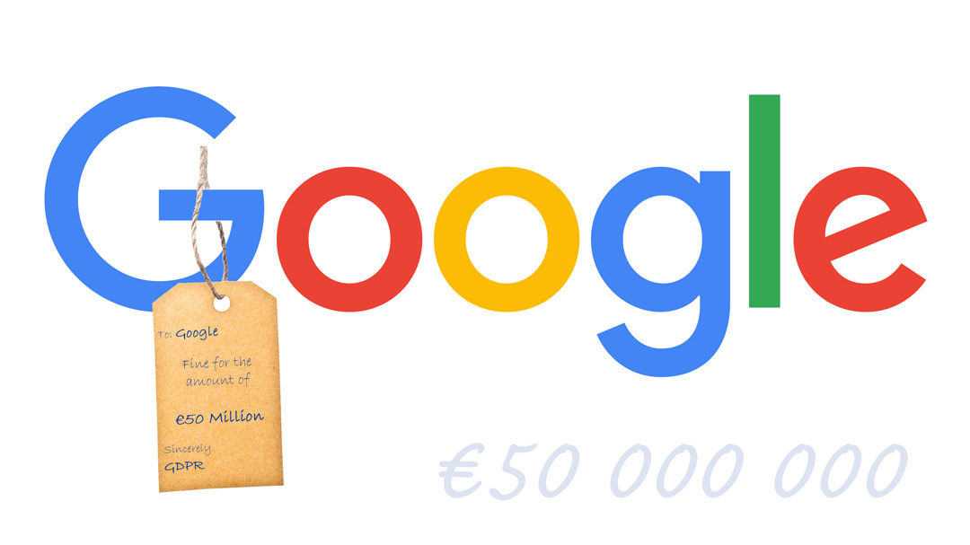 EU imposes €50 million fine on Google